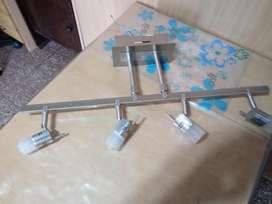 LAMPARA COLGANTE Moderna de 4 Bipin