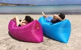 Bolsa reposera/cama inflable