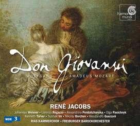 CDs- Don Giovanni- Wolfgang Amadeus Mozart (Dir. René Jacobs).