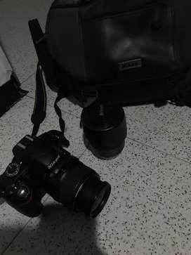 Nikon 3200 camara profesional