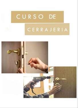 CURSO COMPLETA CERRAJERIA 2020