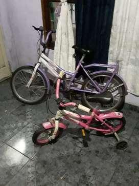 Vendo  bicis de nena