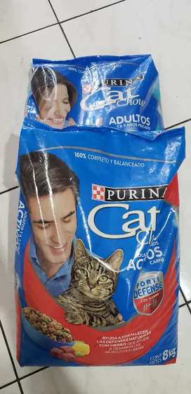 Purina Cat chow adultos gatos 8kg