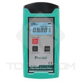 Medidor De Potencia De Fibra Optica Proskit Mt7601