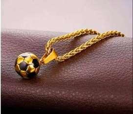 cadena para futbolista