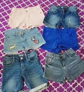 Short de jeans nena T 6