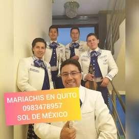 Mariachis en Quito Santa barbara cristo rey chillogallo solanda