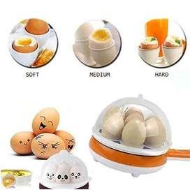 Hervidor De Huevos Cocedor Freidor Eléctrico 2 En 1 Delivery