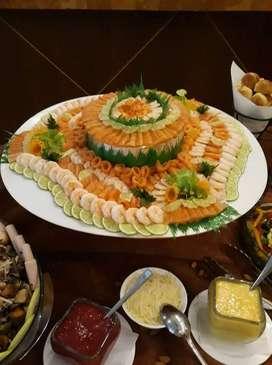 Servicio de preparación de comida para todo tipo de evento social.