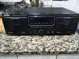 Doble cassetera TEAC w780 r usada