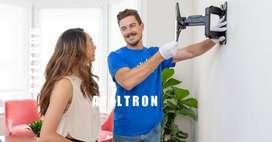 Bases soportes tv instaladores profesionales siempre disponibles