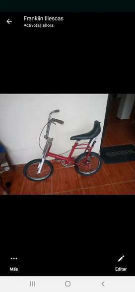 Bicicleta choper falk