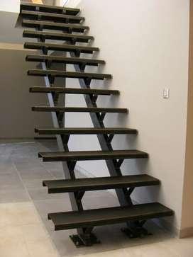 Escaleras en hierro