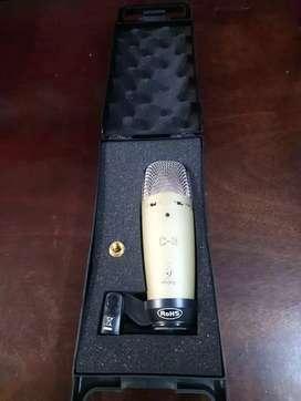 Microfono Behringer C3 Condenser + accesorios
