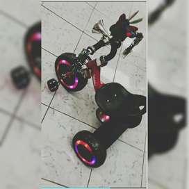 Triciclo Bicicleta cod 8585. ind para niños de 5 años Coche a Pedal