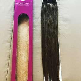 Estenciones de cabello natural