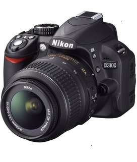Camara reflex digital nikpn d3100