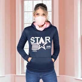 Buso Star diseño exclusivo. Incluye tapabocas.