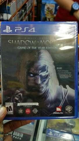 Shadow Of Mordor Ps4 Nuevo Sellado Stock