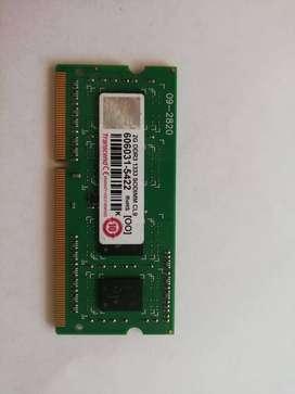 MEMORIA RAM DDR3 - 2GB- EXELENTE ESTADO