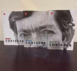 Cuentos completos de Julio Cortázar en 3 tomos