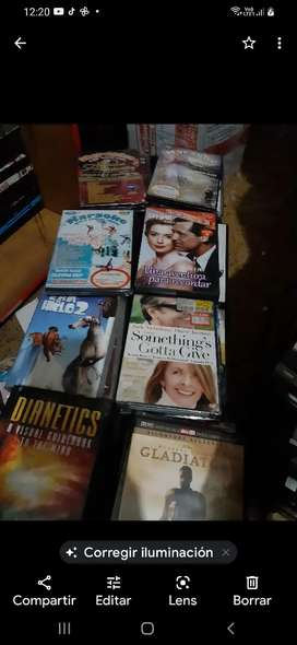 DVDs originales películas a 9000 pesos colombianos