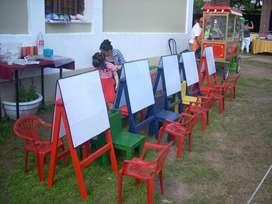 vendo 15 atriles dobles c/u 500 . total para 30 niños