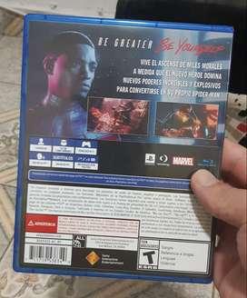 Spiderman Miles Morales Ps4 Juego Formato Fisico