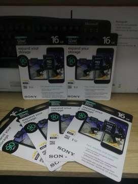Memoria Sony 16gb 4k 90MB