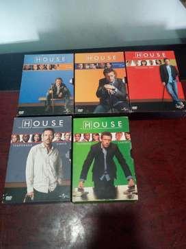 Coleccion de Serie Dr. Hause 5 Temporada