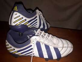 Botines Adidas tapones cambiables