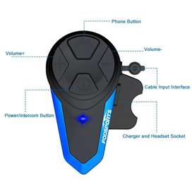 Intercomunicador Moto Bluetooth Fodsports Bts3