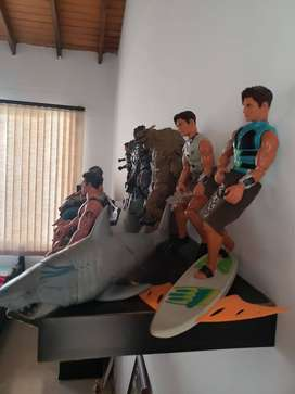Vendo MAX STEEL ORIGINALES.