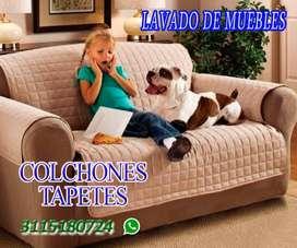 LAVADO DE MUEBLES, COLCHONES, TAPETES, ALFOMBRAS BOGOTA