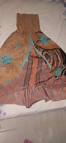 Vestido de seda Indu nuevo