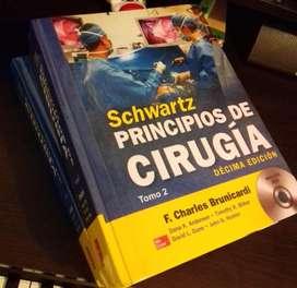 SCHWARTZ PRINCIPIOS DE CIRUGÍA (10ª EDICIÓN) NUEVO, TAPA DURA
