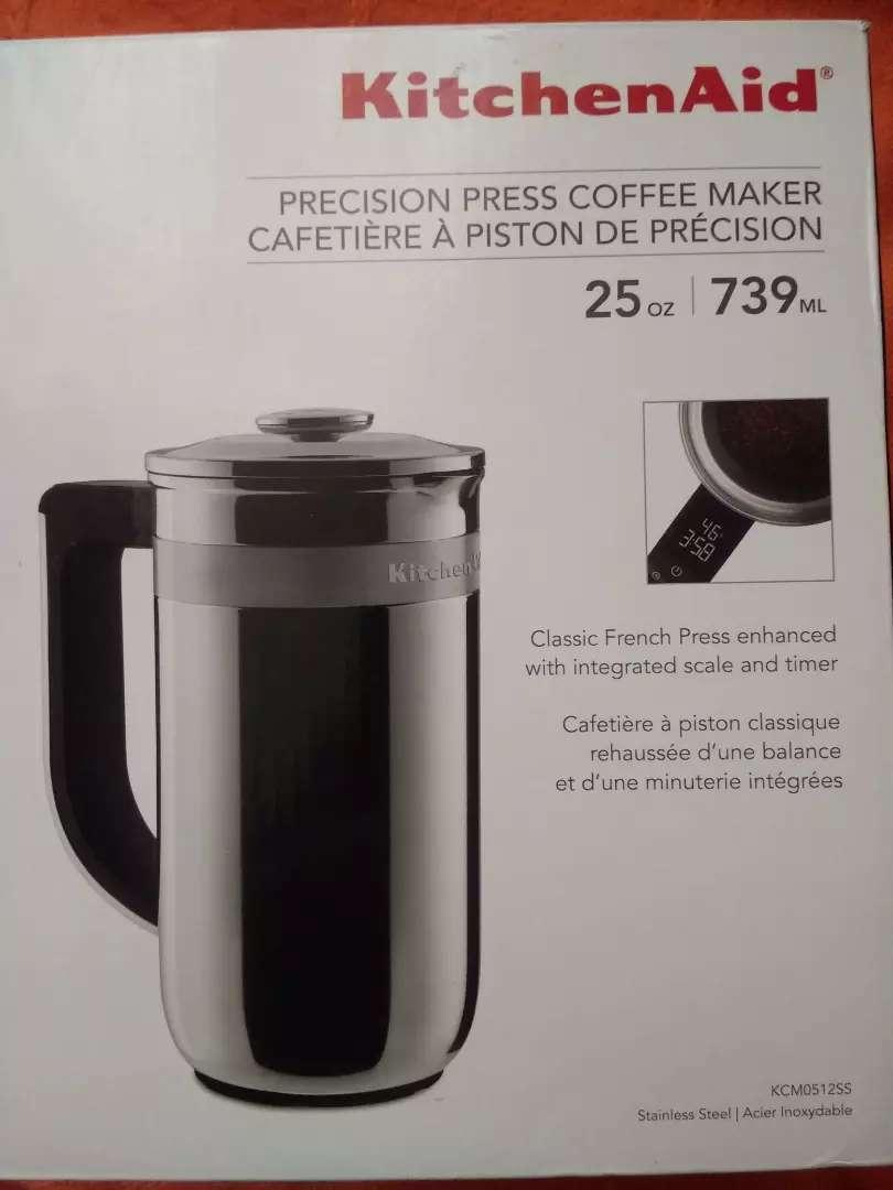 Cafetera de pistón de precisión