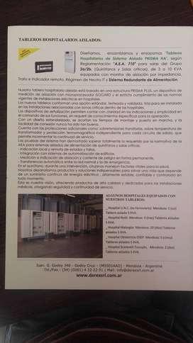 TABLERO HOSPITALARIO AISLADO DEREX