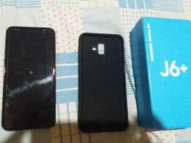Samsung J6+dúo vendo o cambio