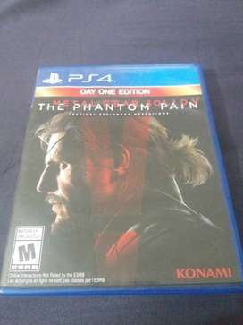 Metal Gear Solid Phantom Pain PS4