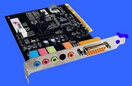 Tarjeta De Sonido Genius PCI 5.1