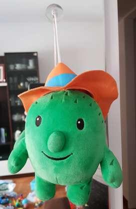 Muñeco Peluche Colgante Cactus Toby Sheriff Callie Sopapa ASP