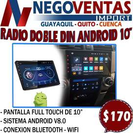 RADIO DOBLE DIN ANDROID CD DVD
