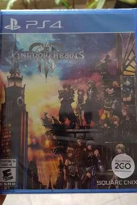 Kingdom Hearts 3 ps4 nuevo. Cambio a juego de 2019