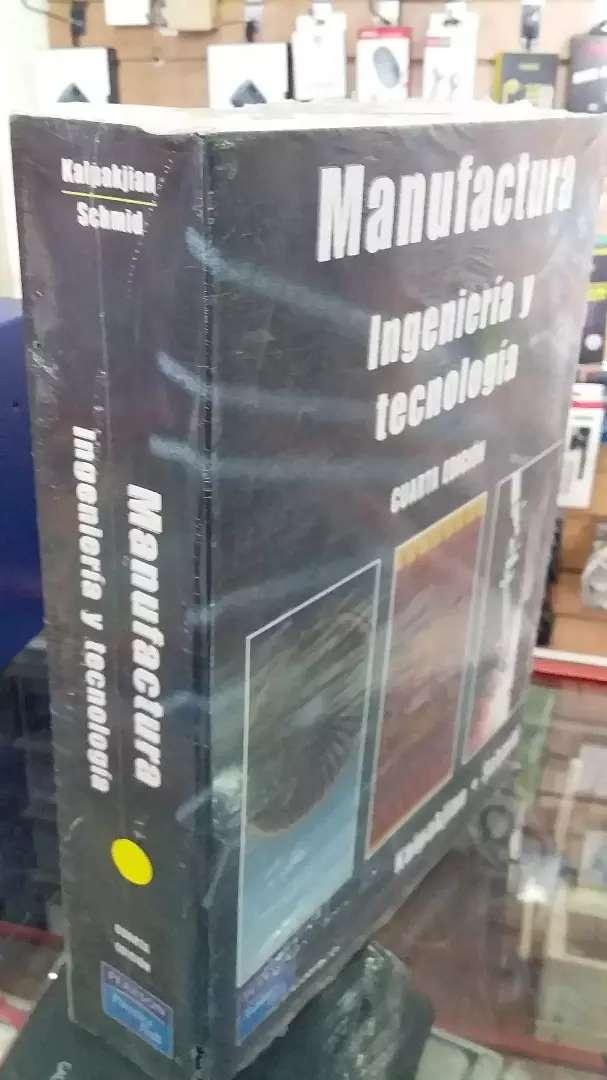 Manufactura ingeniería y tecnología de kalpskjian 0