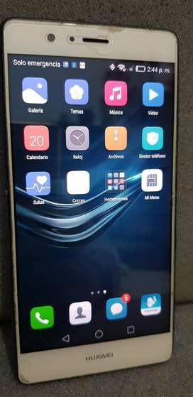 Huawei P9lite (Detalle en parlante)