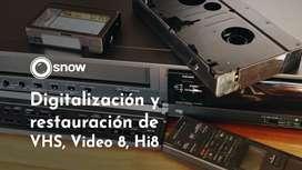 Conversión de VHS a DVD - Pendrive - Digitalización
