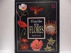 El Gran Libro De Las Flores. Michel Viard. Libro