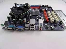 Combo Dual Core E5300 +Placa+2 gigas de ram
