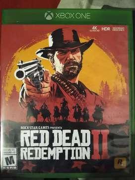 Red dead redemption 2 Xbox one cómo nuevo